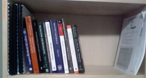 Shelf 2. Translation books