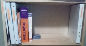 Shelf 4. Education books